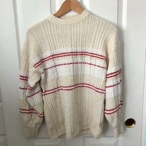 Urban outfitters UO red stripe oversized sweater